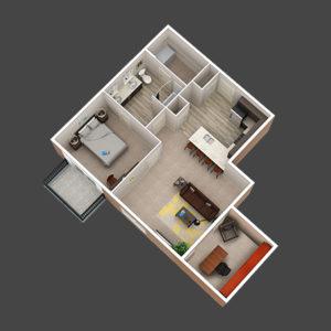 Del Mar 1 Bedroom Apartments in Lewis Center, Ohio