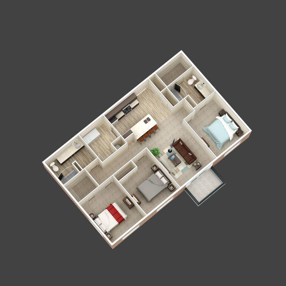 The Avalon floor plan